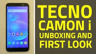 Tecno Camon i Unboxing and First Look   Specifications, Features, and More