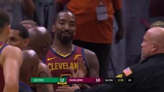 Boston Celtics vs Cleveland Cavaliers Full Game Highlights  10 06 2018 NBA Preseason - Crazy Fight!