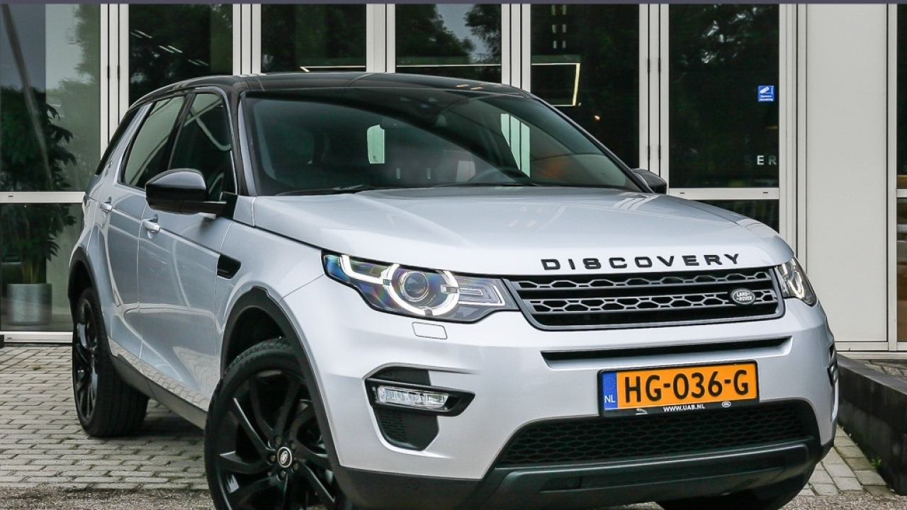 land rover discovery sport 2 0 td4 hse black pack youtube. Black Bedroom Furniture Sets. Home Design Ideas