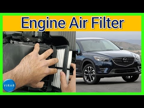 How to Replace Engine Air Filter – Mazda CX-5 (2012-2016)