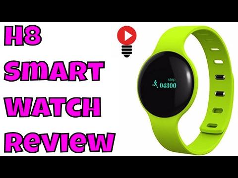 H8 Smart Watch Bracelet intelligent Impermeable Bluetooth Fitness montre Review ThinkUnBoxing 4K