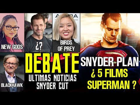 DCEU DEBATE - SUPERMAN 5 PELÍCULAS - ZACK SNYDER CUT - SPIELBERG - BIRDS OF PREY - HARLEY QUINN