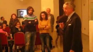"""Inaugurazione di Franz Riccobono della Mostra """"Il costume teatrale siciliano"""" - 11 Dicembre 2011"""
