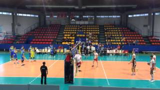 Warmup Hitting Volleyball (AUT-SLO) - Day2 #1