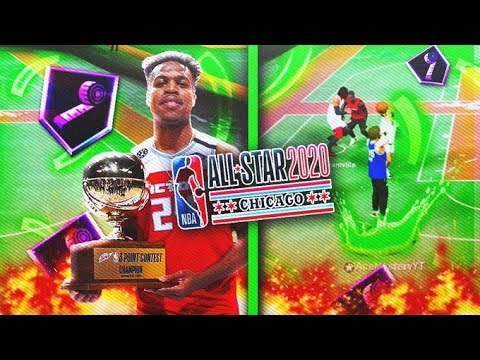 NBA 2K20 BEST JUMPSHOT AFTER PATCH! USED THE 2020 NBA 3 POINT CONTEST WINNER BUDDY HIELD'S JUMPSHOT!