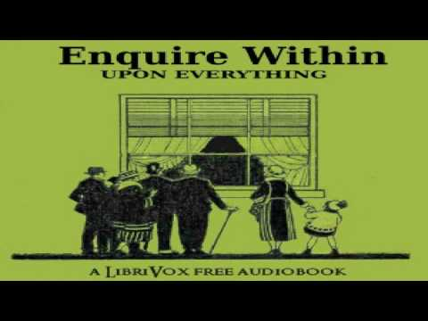 Enquire Within Upon Everything   Robert Kemp Philp   *Non-fiction, Crafts & Hobbies   3/19