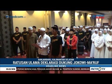 Deklarasi Ratusan Ulama Muda se-Kalsel Dukung Jokowi-Ma'ruf Mp3