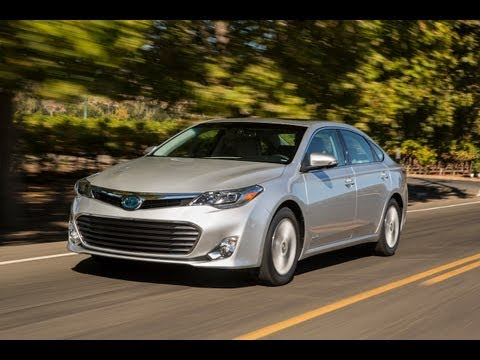 2013 Toyota Avalon Hybrid 0-60 MPH First Drive Review