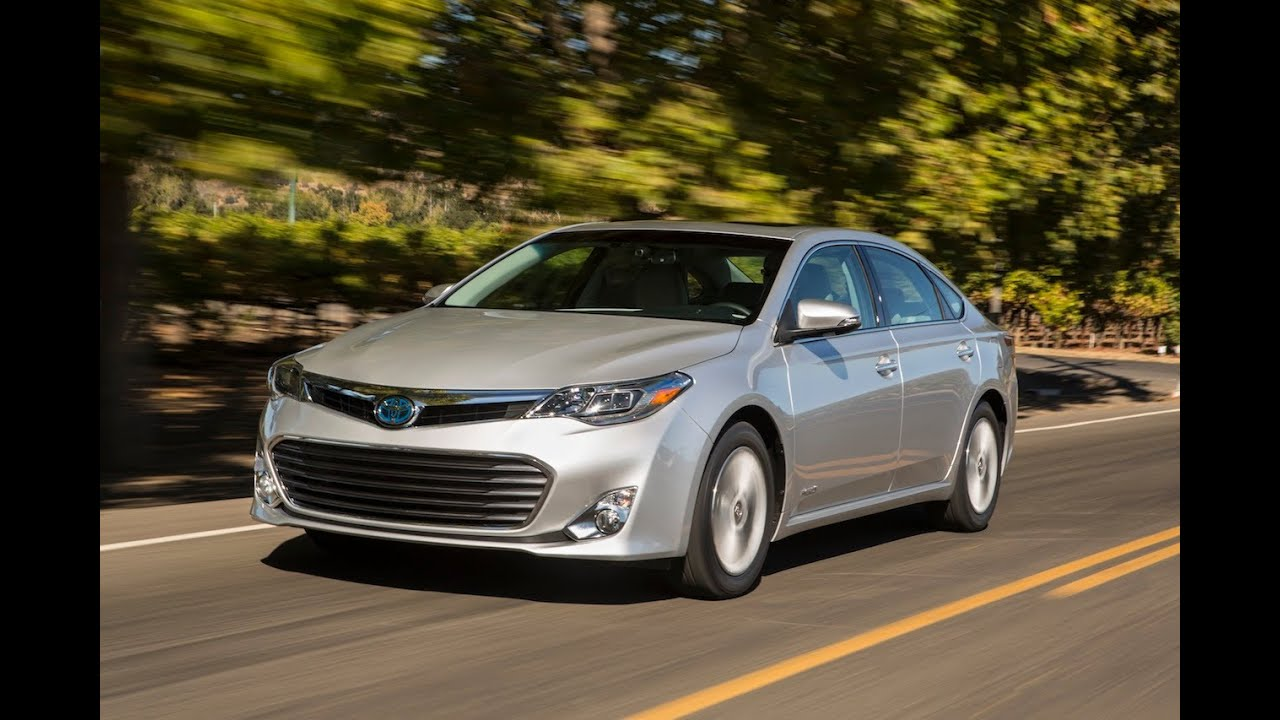 2017 Toyota Avalon Hybrid 0 60 Mph First Drive Review