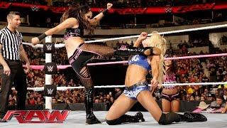 Charlotte vs. Brie Bella: Raw, October 19, 2015