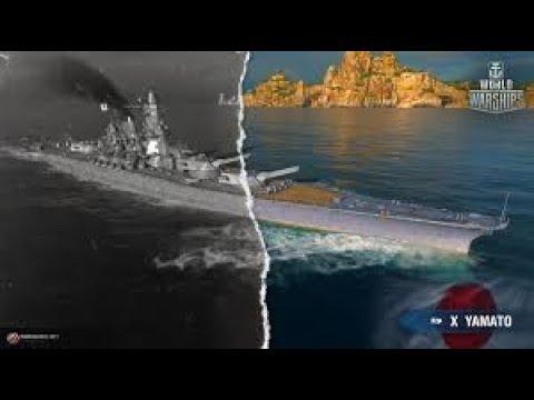 Naval Legends Yamato World of Warships - YouTube