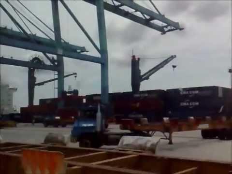 Westport, Port Klang, Malaysia Part 3 Dtrans Trip