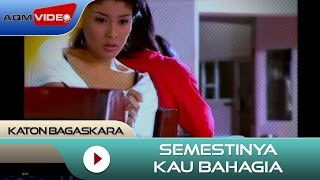 Download Mp3 Katon Bagaskara - Semestinya Kau Bahagia |