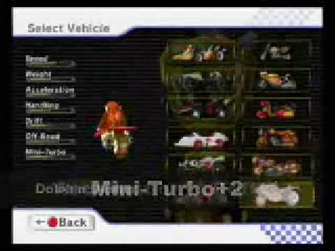Mario Kart Wii All Character Secret Stats Mario Kart Amino