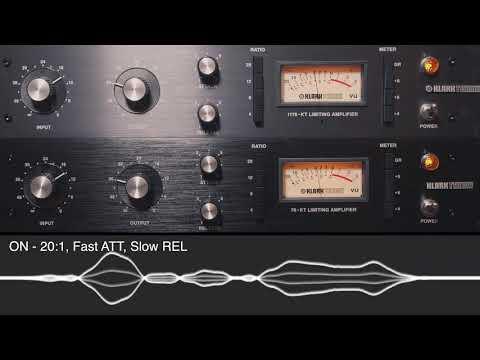 Klark Teknik 76-KT Stereo | Drum Machine, Synth Bass, Full Mix