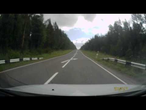 Состояние дороги Братск - Усть-Кут