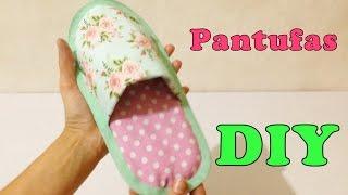 Como Fazer Pantufa para Adulto de Tecido Sem Costura