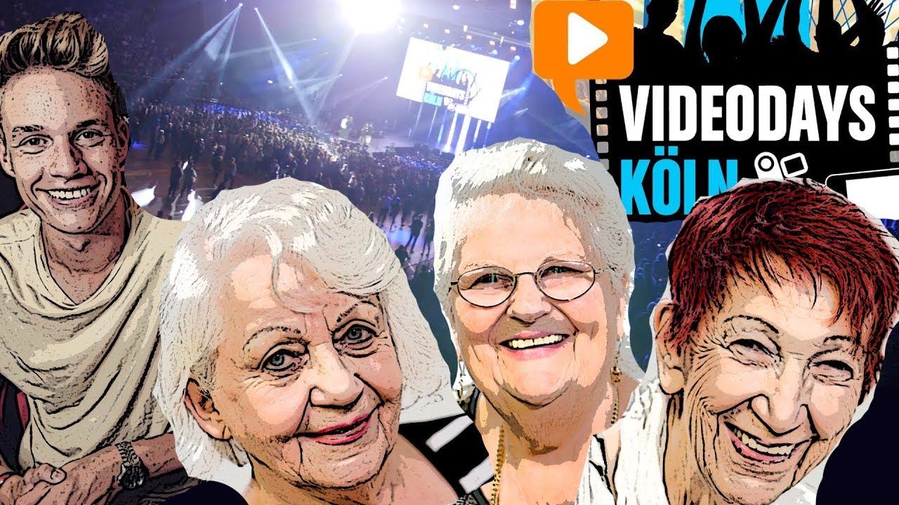 VideoDays 2017 - Ein wunderbares Erlebnis! Oma geht steil!