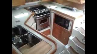 Catalina 400 Interior tour at Sea Lake Yachts Texas asking $186500.