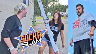 Ellsworth Kisses Heel Wife - Grim vs James Ellsworth for the Youtube Championship
