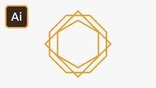 Speedy Polygons in Illustrator | 2 Minute Tutorial