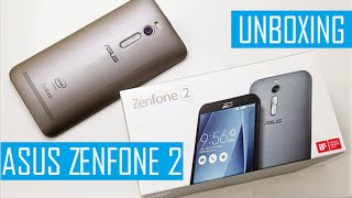 Unboxing Asus Zenfone 2 Dourado MEU NOVO SMARTPHONE