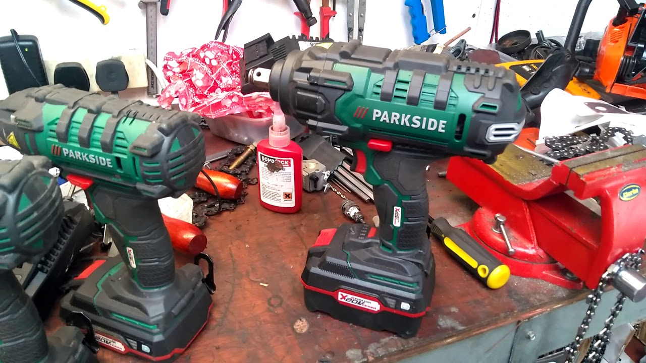 Lidl Parkside Impact Driver Impact Wrench Review Youtube