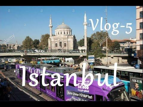 Istanbul City Tour - Aksaray Shopping Street - Sirkeci Railway Terminal - Turkey / VLOG-5