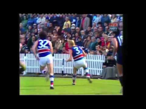 Carlton Vs Footscray 1976 VFL Round 22 Highlights  Fox Footy Vault  Footage c