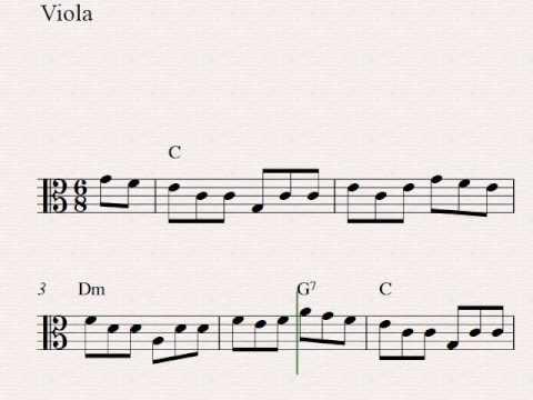 The Irish Washerwoman - Free easy viola sheet music