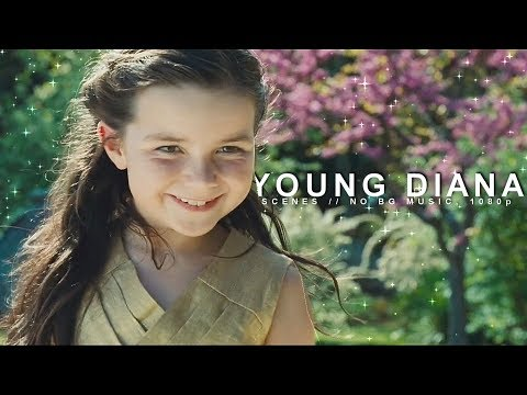 Young Diana Prince