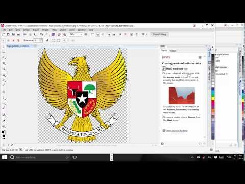 Cara Menghapus Background Putih Dicorel Draw X7