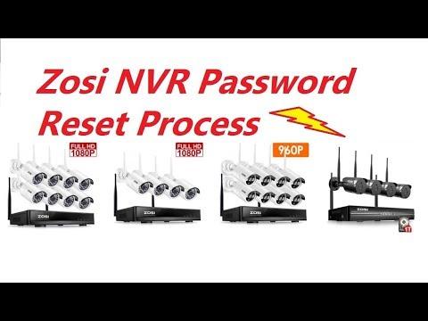 Zosi NVR Password Reset Process !!!