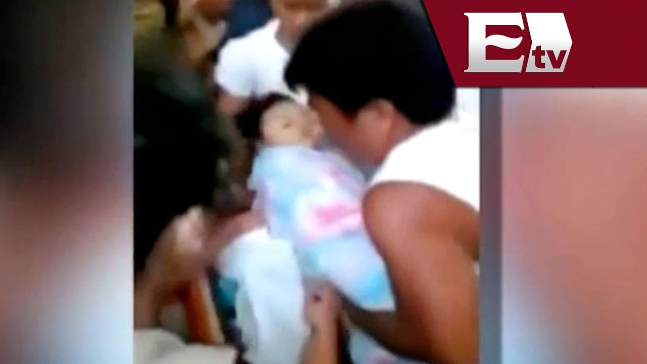 Bebé De Tres Años Resucita En Su Ataúd Antes De Ser Sepultada Andrea Newman Youtube