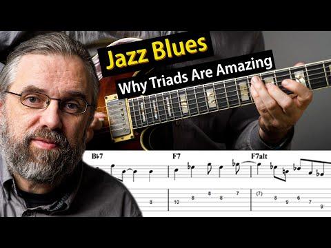 Jazz Blues - You Need To Know Triads!