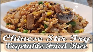 How to make chinese vegetable fried rice
