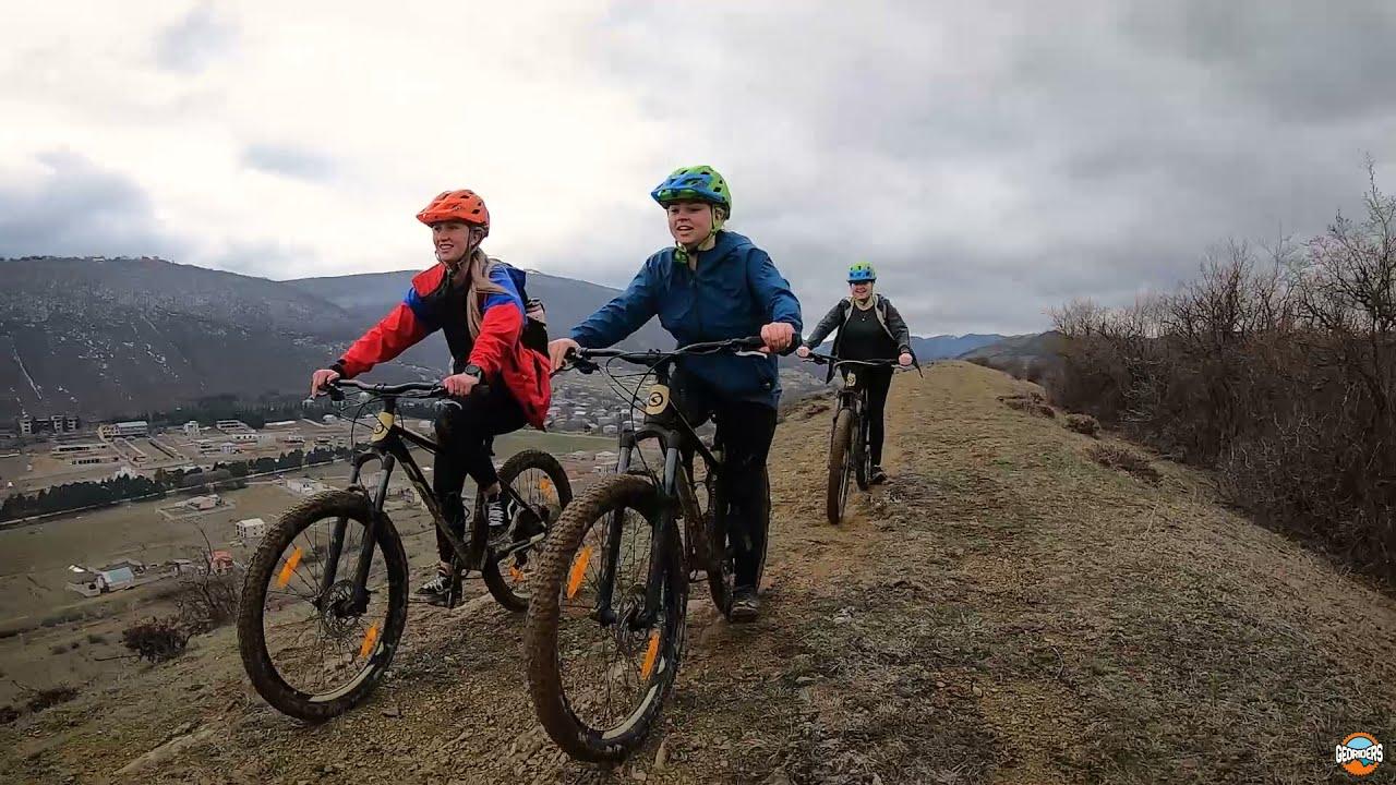 ველო ტური თბილისთან ახლოს 2021 | Mountain bike tour close to Tbilisi 2021