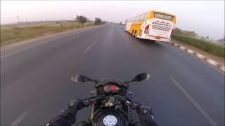 Chasing Volvo Bus