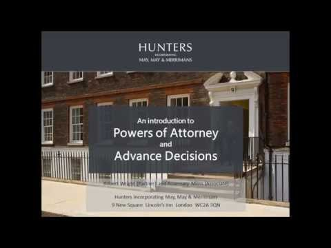 07.07.2016 Joint carers' support group meeting: Introduction to power of attorney