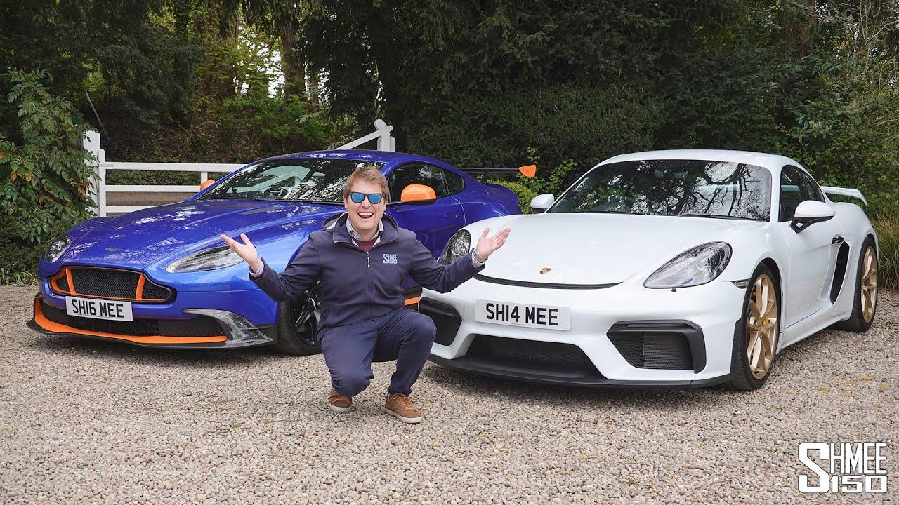 My Best Driver's Car? Aston Martin GT8 vs Porsche 718 Cayman GT4