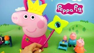 Свинка Пеппа Набор для маленьких принцесс. Peppa Pig Веселые видео на канале ИграШоу TV(Красивый набор со свинкой Пеппой. Много разных украшений с яркими драгоценными камнями и конечно есть волш..., 2014-12-28T09:27:50.000Z)