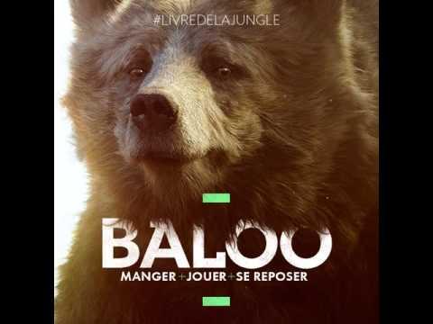 le livre de la jungle 2016 baloo promo art instagram vf youtube. Black Bedroom Furniture Sets. Home Design Ideas