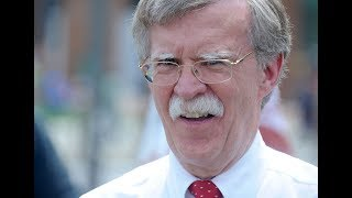 John Bolton, Donald Trump's outspoken National Security Adviser.