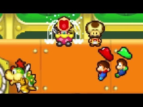 Mario & Luigi: Partners in Time Walkthrough - Part 2 - Hollijolli Village