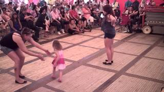 Jigging Contest - Juniors - Lac La Biche Powwow Days 2014