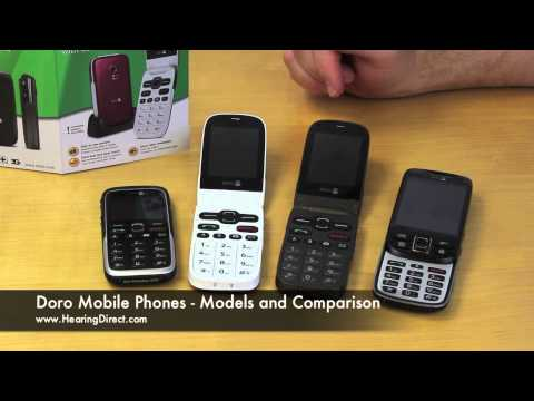 doro-mobile-phones-models-and-comparison