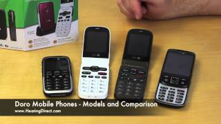 Doro Mobile Phones   Models and Comparison