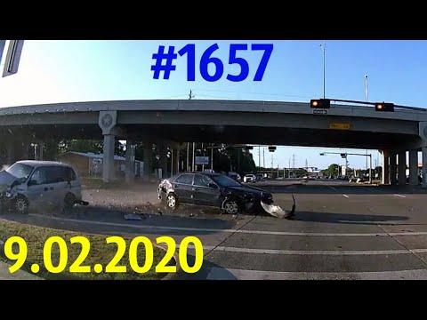 Новая подборка ДТП и аварий от канала «Дорожные войны!» за 9.02.2020. Видео № 1657 (ДТП, ЧП, авария)