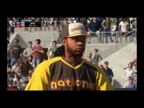 2016 MLB All Star Game National League vs American League