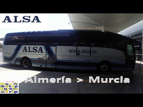 ALSA BUS / ALMERIA - MURCIA / SPANISH BUS TRIP REPORT